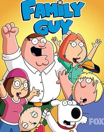 دانلود انیمیشن سریالی مرد خانواده Family Guy S18E07 (1999-2019)