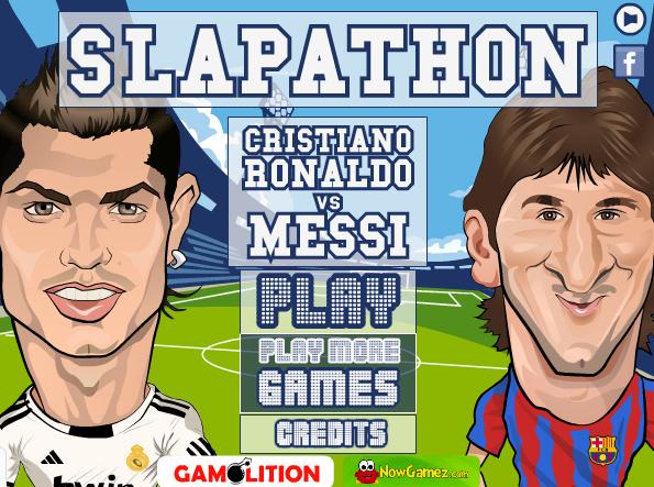 بازی دعوای رونالدو و مسی