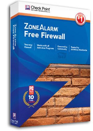 آنتی ویروس و فایروال رایگان زون آلارم (برای ویندوز) - ZoneAlarm Free Antivirus Firewall 15.8.023.18219 Windows