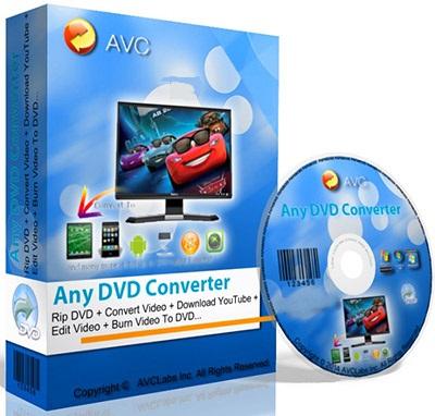 نرم افزار تبدیل فایل های ویدیویی (برای ویندوز) - Any DVD Converter Professional 6.2.3 Windows