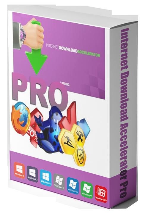 نرم افزار مدیریت دانلود (برای ویندوز) - Internet Download Accelerator Pro 6.19.4.1649 Windows