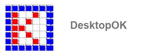 نرم افزار ذخیره و بازیابی وضعیت آیکون های دسکتاپ (برای ویندوز) - DesktopOK 6.71 Windows