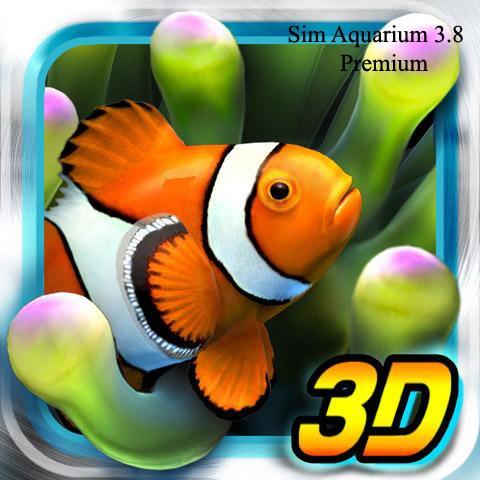نرم افزار محافظ صفحه (اسکرین سیور) - Sim Aquarium 3.8 Premium