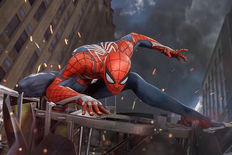 تصاویر 4K نسخه پلی استیشن 4 پرو بازی Spider-Man