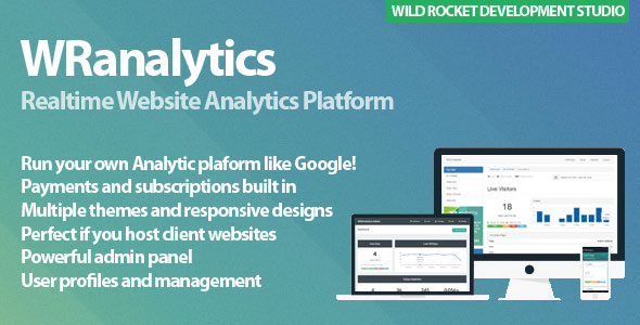 اسکریپت ارائه آمارگیر و بررسی وب سایت WRanalytics