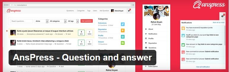 ساخت سیستم پرسش و پاسخ با Anspress