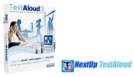 دانلود Nextup TextAloud 4.0.39 – نرم افزار تبدیل متن به صدا
