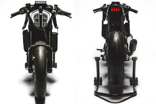 موتورسیکلت سفارشی چارلز لکلرک تولید شد؛ هسکوارنا Vitpilen 701 فیبرکربنی