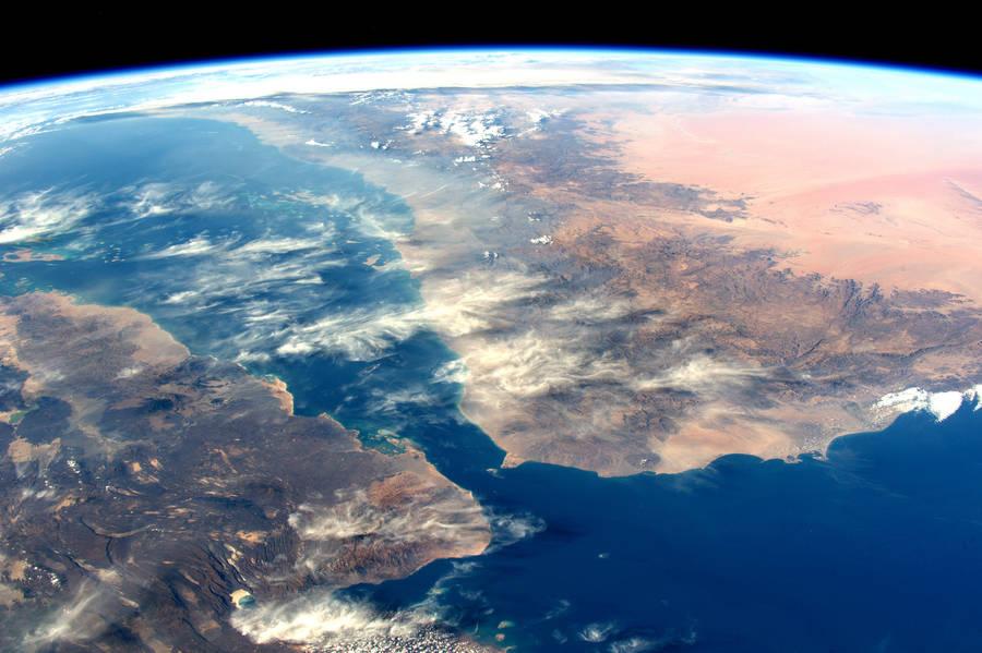 عکس های حیرت انگیز زمین از فضا که توسط فضانورد فرانسوی توماس پیسکو گرفته شده اند