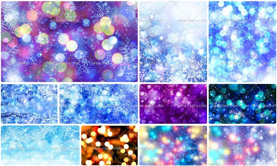 دانلود 28 بک گراند تصاویر انتزاعی فوق العاده زیبا و با کیفیت از زمستان