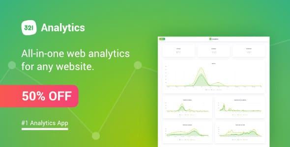 دانلود 321 Analytics – اسکریپت آمارگیر سایت