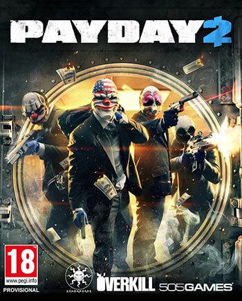 دانلود بازی PAYDAY 2 San Martin Bank Heist برای کامپیوتر – نسخه PLAZA