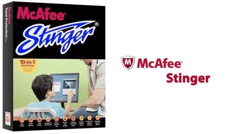 آنتی ویروس مکافی استینگر McAfee Stinger v12.1.0.2500