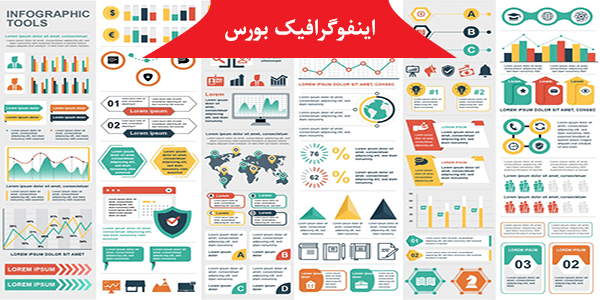 رپورتاژ اگهی: طرح لایه باز اینفوگرافیک بورس