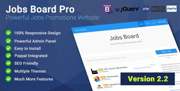 دانلود اسکریپت کاریابی آنلاین Jobs Board Pro نسخه ۲٫۲