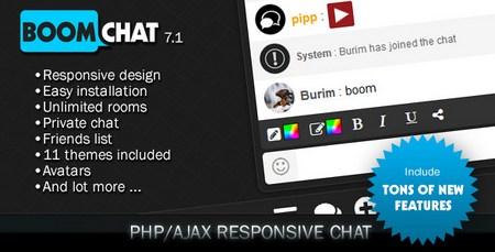 اسکریپت چت روم پیشرفته BoomChat فارسی نسخه 7.1
