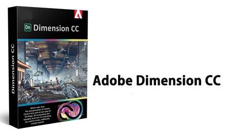 نرم افزار طراحی گرافیکی سه بعدی Adobe Dimension CC 2020 v3.3.0