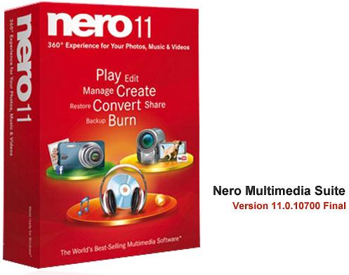 رایت لوح فشرده Nero Multimedia Suite 11.0.10700 Final
