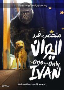 دانلود فیلم The One and Only Ivan 2020 ایوان منحصر به فرد با زیرنویس فارسی