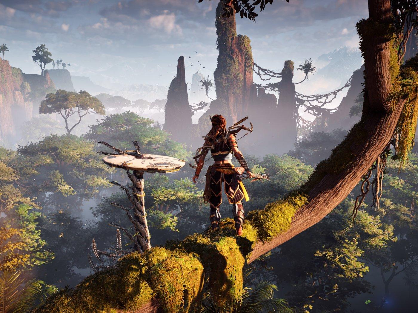 جدیدترین تصاویر منتشر شده از بازی Horizon Zero Dawn