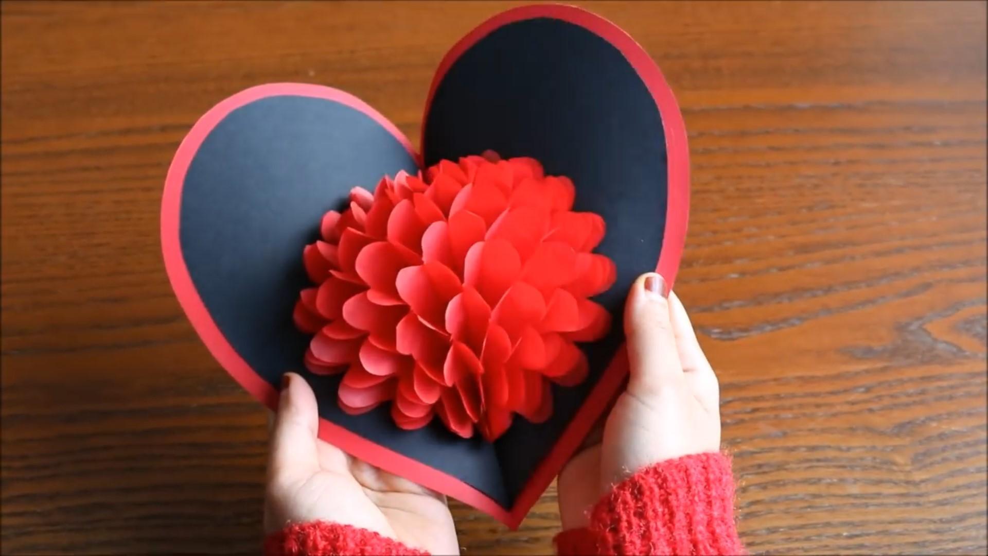 کارت پستال دست ساز | 25 مدل کارت تبریک زیبا و عاشقانه دست ساز
