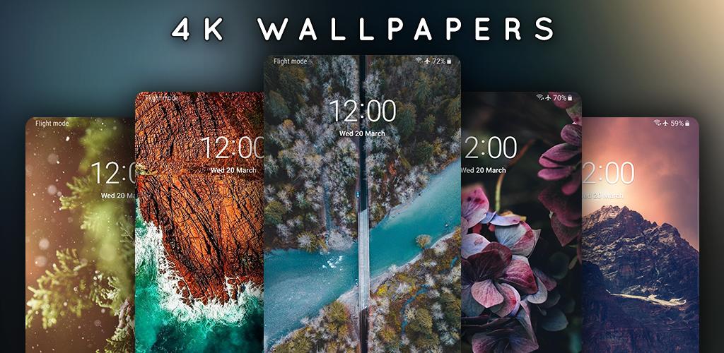 دانلود 4K Wallpapers 1.6.7.1 – مجموعه والپیپر با کیفیت و خاص