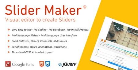 اسکریپت اسلایدر ساز حرفه ای jQuery Slider Maker