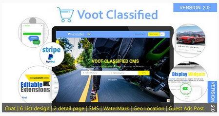 اسکریپت راه اندازی سایت نیازمندی و ثبت آگهی Voot Classified