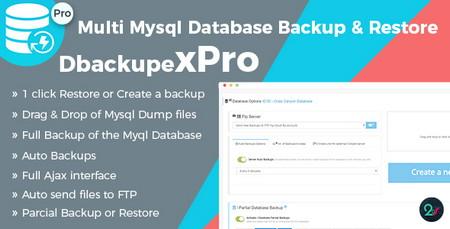 اسکریپت پشتیبانی گیری و بازسازی دیتابیس DbackupeX Pro