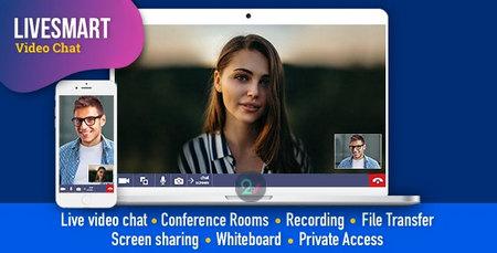 اسکریپت چت تصویری LiveSmart Video Chat