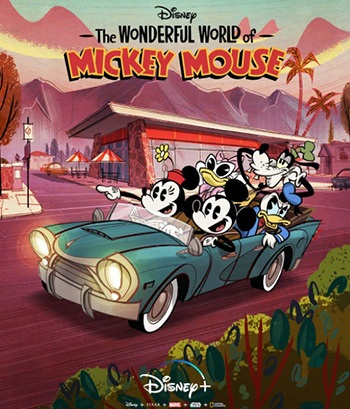 دانلود انیمیشن سریالی The Wonderful World of Mickey Mouse 2020