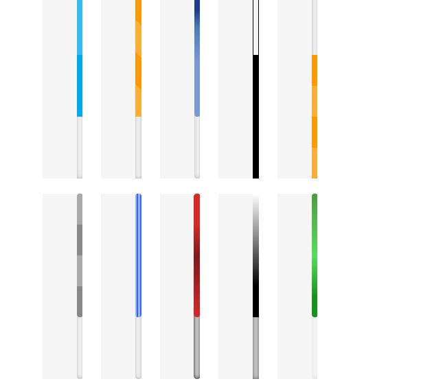کد ابزار تغيير رنگ اسکورل بار صفحه