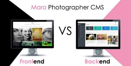 اسکریپت راه اندازی وبسایت عکاسی Maro Phpotographer