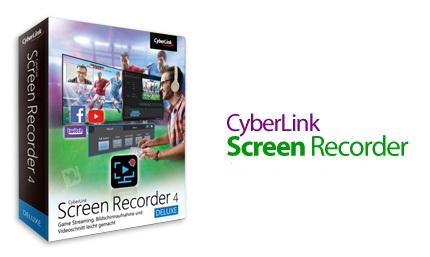 دانلود CyberLink Screen Recorder Deluxe v4.2.9.15396 - نرم افزار فیلمبرداری از دسکتاپ با امکان ویرایش و پخش آنلاین آن ها