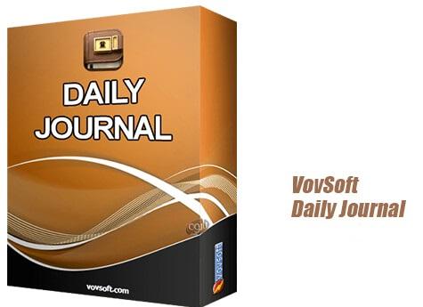 دانلود و نصب VovSoft Daily Journal 5.8 برنامه یادداشت برداری با قابلیت قرار دادن رمز