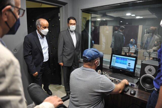استودیو صدای رودکی افتتاح شد