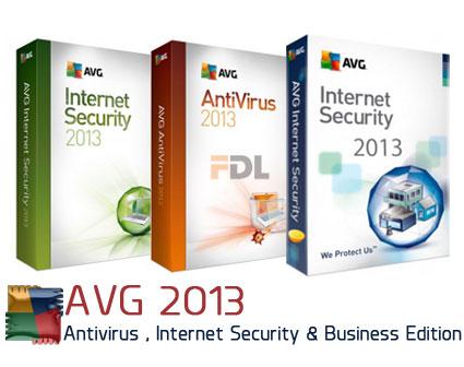 دانلود آنتی ویروس ای وی جی 2013 - AVG Antivirus