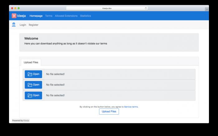 دانلود Kleeja 3.1.3 – اسکریپت آپلود سنتر رایگان کلیجا