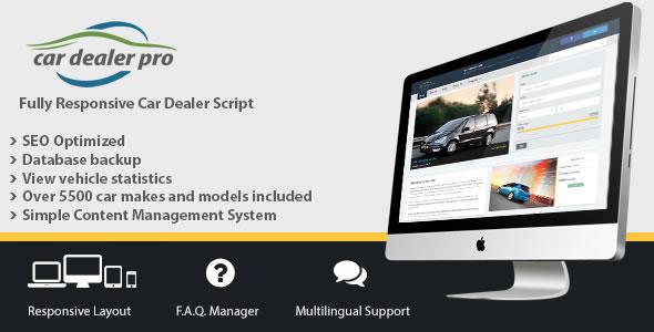 دانلود اسکریپت خرید و فروش ماشین Car Dealer Pro